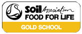 Soil Association Food for Life Gold Award